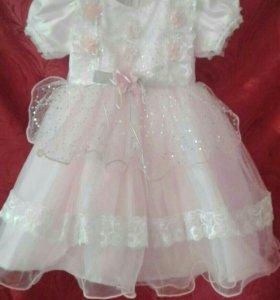 Пышное платье на 1-2 года.