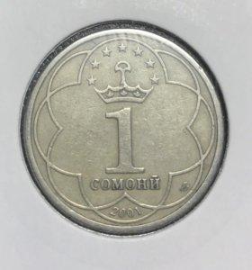 Монета Таджикистана