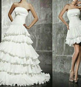 Свадебное платье 2в1 AMOUR BRIDAL