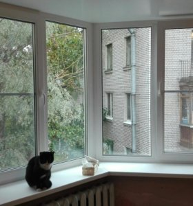 Окна металлопластиковые ПВХ