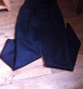 Штаны(черные,с бантиком с боку)