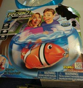 Robofish роботы-рыбки с аквариумом 0+