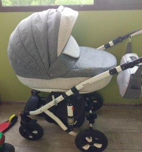 Детская коляска 3 в 1 (Toscana) bebe -mobile