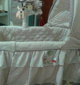 Сказочная кроватка для ребеночка