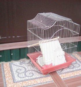 Клетка для попугая или канарейки