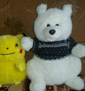 2 мягкие игрушки