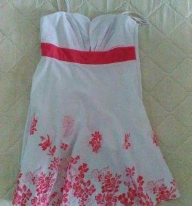 Летнее платье размер 42-44