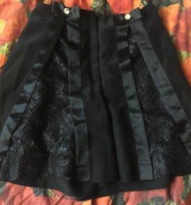 Юбка шорты для школы