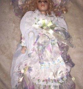 Кукла фарфоровая, 50см