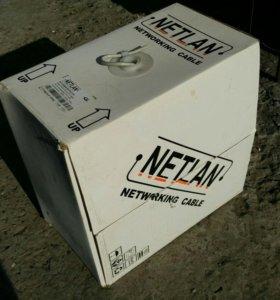 Витая пара 305м Netlan 4x2(4 пары) 5e cat.