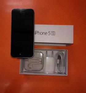 Продаю iphone 5s чёрный, 16 гб