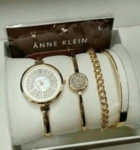 Anne klein набор часы и браслеты