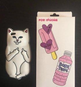 Силиконовый кейс для iPhone