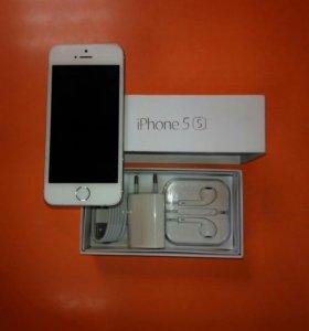 Продаю iphone 5s white 16gb