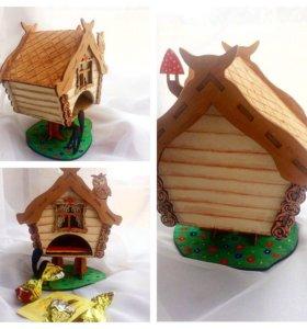 Подарки ручной работы Чайные домики