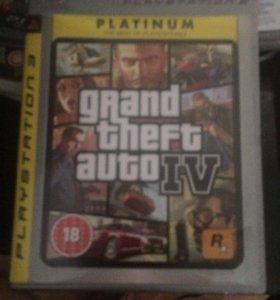 Лицензионный диск GTA на PS3