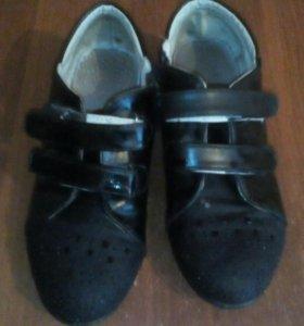 Туфли на каблуке с блесками