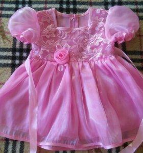 Платье для девочки, нарядное.