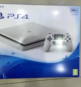 Playstation 4 slim 500gb. Новый.
