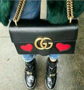 Сумочка Gucci натуральная кожа