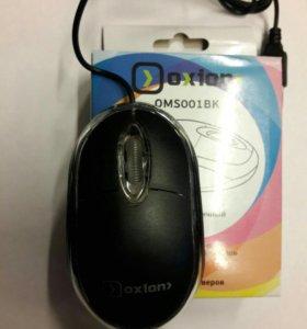Мышь проводная Oxion oms 001