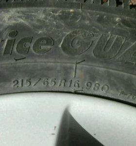Колеса диски литые r16
