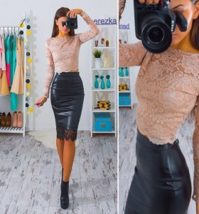 Костюм блузка +юбка