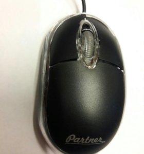 Мышь проводная partner cm 010