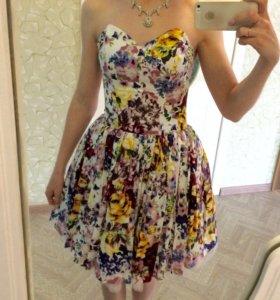 Платье на выпускной, размер -xs