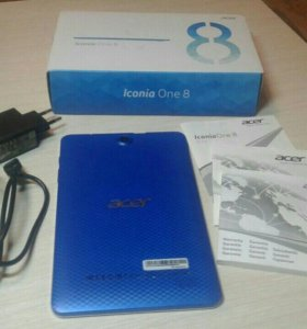 Acer Iconia one 8 новый