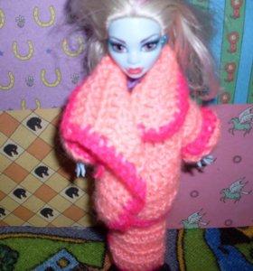Кукла монстр хай.Эбби.