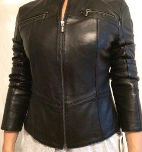 Куртка кожаная новая-Турция