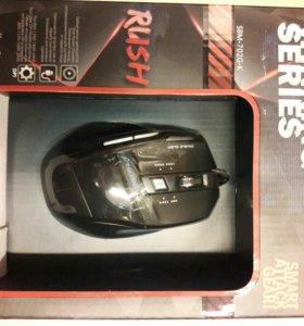 Мышь проводная игровая smartbuy rush 702