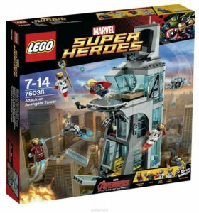 Lego 76038 atteck on avengers tower