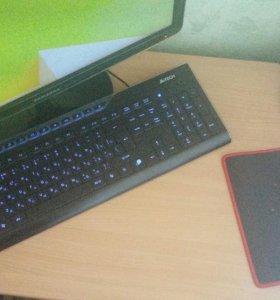 Комплект Мышь, клавиатура, коврик