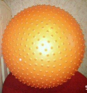 Гимнастический массажный мяч
