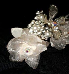 Шпильки для свадебной прически