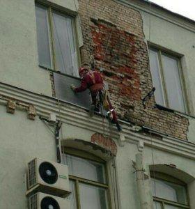 Реставрация реконструкция зданий, монтаж лесов и к