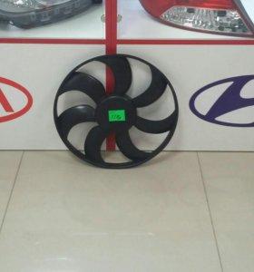 Крыльчатка радиатора Solaris / Rio