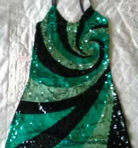 46-48 Платье на бретельках