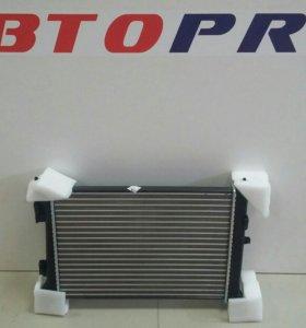 Радиатор Solaris / Rio МКПП