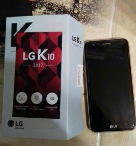 Смартфон lg k 10 2017 года