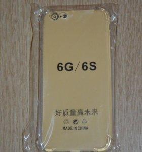 Светящийся силиконовый чехол iPhone 6/6S