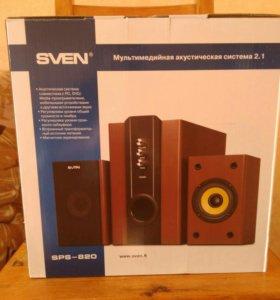 Акустическая система sven sps -820