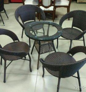 Мебель из ротанга для сада и гостиной