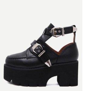 Ботинки-туфли
