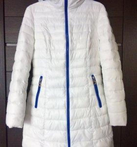 Зимнее пальто и шарф
