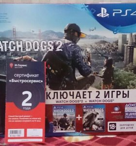 Sony PlayStation 4 Slim 1TB + 2 года гарантии