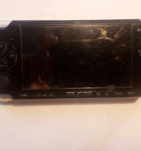 PSP, зарядка, 3игры