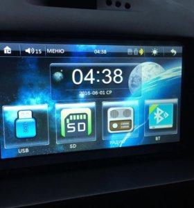 2din магнитола с GPS навигацией,экраном 7 дюймов
